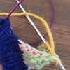 靴下のかかとダッチヒールの編み方(はき口から編む方法)を詳しく説明しようと努力してみた