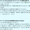 2021.8.8 【#PIW2021大分公演 ゲストアーティスト降板のお知らせ】
