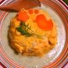 胡瓜豆乳ソースのチキンオムライス