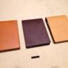 土屋鞄製造所 ヌメ革 メモパッドホルダー 3年後のエイジング