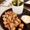 キャンプ男子メシ部(夜ご飯) 炒めるだけで出来上がり!簡単、マッシュルームのオリーブオイル炒め