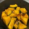カボチャの煮物を作りました。