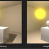 Photoshop で2枚の画像の差分だけを抽出する