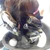 髪をきれいに掃除する