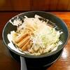 【金沢 冷やし ラーメン】「冷やぶっかけ(ひもかわ麺)」客野製麺所 (きゃくのせいめんしょ)