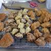 幸運な病のレシピ( 1919 )昼:カツ、鶏唐揚、イカ天、芋天、夕食の準備になる昼食。