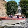 水路で巡るブルージュの街@運河クルーズ