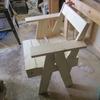 手つくりの椅子