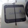 Garmin 取付事例紹介(2)「ECHOMAP Plus 95sv+GT41-TM+QuadSAT(ヘディングセンサー内蔵GPSアンテナ)」