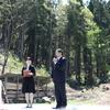 那谷寺の遠山桜記念植樹で松平健さんを見に行く