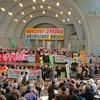 3.9福島を忘れない全国集会に参加。浅草の沿道の温かい雰囲気の中でデモ行進