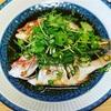 和食にしようと決めてたけど中華になった日の晩ごはん/連子鯛の中華蒸し