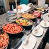 コンラッド東京 セリーズでの朝食ビュッフェ。