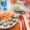 ホストマザー、お寿司を作ってくれる#ハワイ留学
