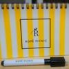 【買い逃した雑誌の付録をGET】ROPE' PICNIC(ロペピクニック)何度も書けるホワイトボード
