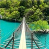 死ぬまでに渡りたい世界の徒歩吊橋TOP10入りした「夢の吊り橋」@静岡 に行ってみた