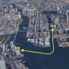 #212 晴海〜竹芝間の舟運構想 東京都関係者、報道より