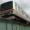 多摩川を渡る路線・列車を集めてみました。JR編
