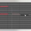 (Digital Performer)ctrl(またはcommand)、shiftを用いたデータ選択、移動、複製