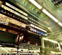 ★JR大阪駅ホーム