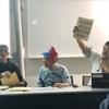 明治大学でナムコの開発資料を見る
