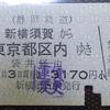 【切符系】 デザインもさまざま バスから鉄道への直通切符 (連絡運輸)
