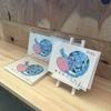 お絵かき看護師かおりの作品をカフェで販売していただける事になりました