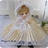 幼SD プリーツのあるちょっと品のあるドレス2点