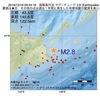 2016年12月16日 09時34分 国後島付近でM2.8の地震
