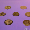 西安大唐西市博物館(その44:3階シルクロード硬貨展示ホール_安息帝国の従属国:エラム・ペルシス・罽賓・エフタル )