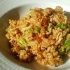 キムチ炒飯 with 粉チーズ