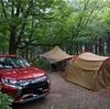 ひるがの高原キャンプ場は景色が最高の林間サイト