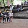6年生:修学旅行⑦ 奈良公園で班別行動 その3 全員無事旅館に帰着