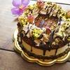 贈りものにローケーキを作りました!