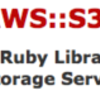 Amazon S3(ap-southeast)をRubyから使う