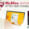 Why Does McAfee Antivirus Often Keep Disabling?