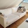 ☆IKEAのソファー、1人で解体&カバー交換