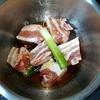 ホットクック: 豚の角煮のレシピに挑戦。面倒なので油抜きなし!
