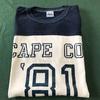 677 ビンテージ FOOTBALL 2トーン Tシャツ 80's90's