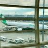 【台湾】はじめてのエバー航空♪ 旧正月シーズンで、機内もお祝い仕様でした(^^)