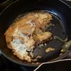幸運な病のレシピ( 1714 )夜:特急便3種仕立て直し、カツのアタマ、煮しめ、昨日の汁(仕立直し)