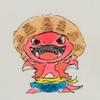 ルフィ(ワンピース)に憧れるぷちゴン(コピック) ぷちゴン