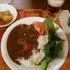 昨日の夕飯、ハヤシライス