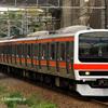 武蔵野線車庫間車両数調整回送、8883レ、他。