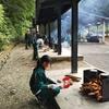 5年宿泊体験 野外炊飯その3