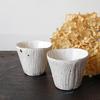 柔らかくやさしい雰囲気の波模様のカップ|村上直子