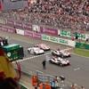 ● ル・マン決勝:ついに勝った! トヨタ8号車、中嶋一貴が首位でゴールチェッカーを受ける!