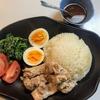 超簡単・炊飯器で作るシンガポールチキンライス♪ 手抜きだけど手抜きに見えない!