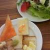 チーズクラフトワークス 野菜とパン食べ放題が始まっていた