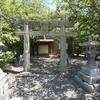 田神社入口にまつられる庚申塔 福岡県朝倉市上畑